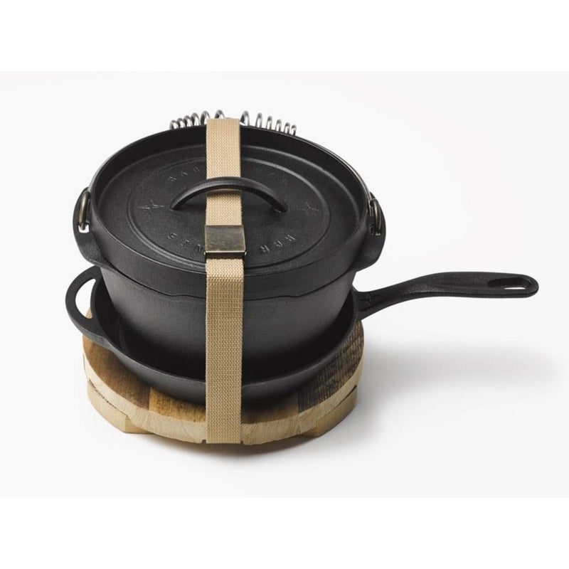 Cast Iron Dutch Oven Classic Kit – 4 Qt.