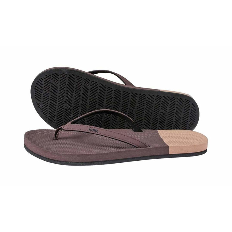 ESSNTLS Flip Flops Color Block Women ½ Soil / Light Soil