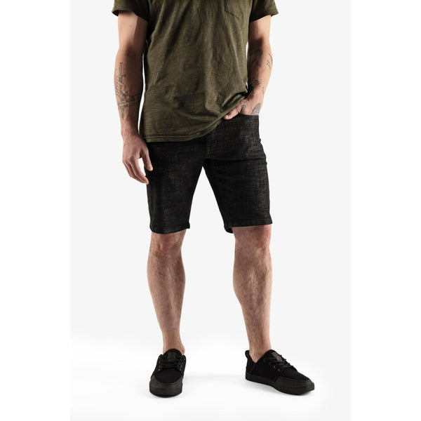 Men's Denim Shorts - Black