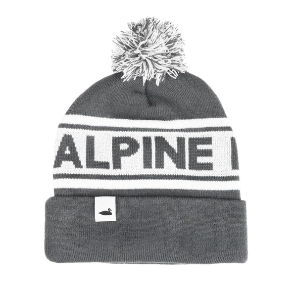 Summit Pom Beanie | Grey