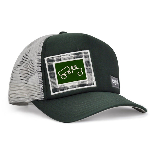 Forest Green Grey Plaid Original