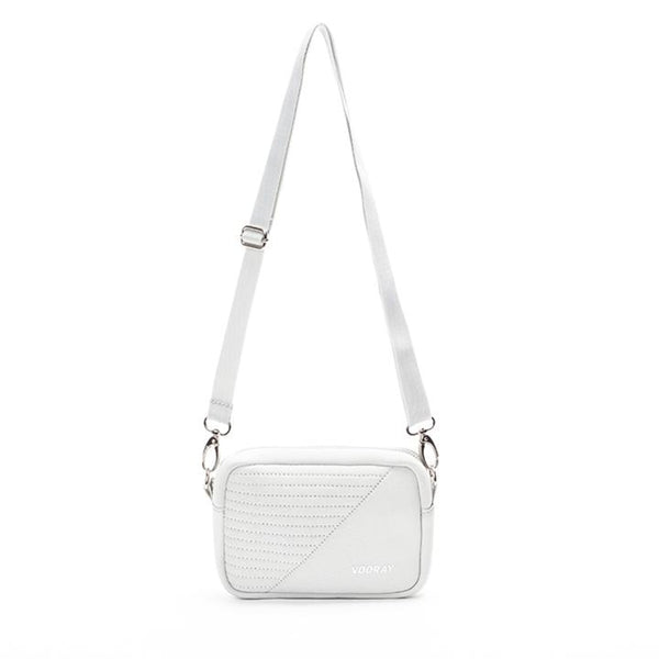 Sidekick Crossbody Bag, Gray Moto