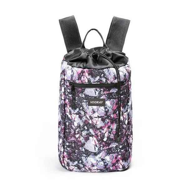 Stride Cinch Backpack, Metallic Gem