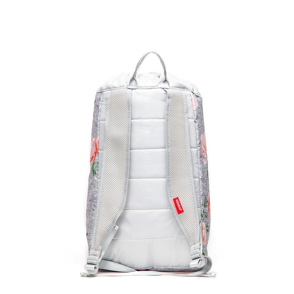 Stride Cinch Backpack, Rose Gray