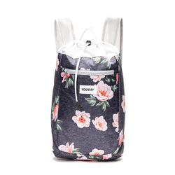 Stride Cinch Backpack, Rose Navy