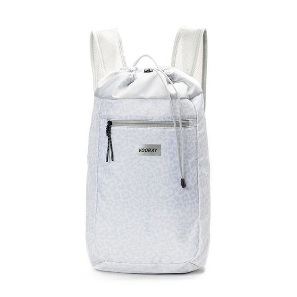 Stride Cinch Backpack, Snow Leopard