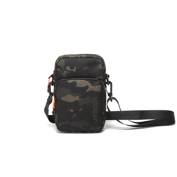 Core Crossbody Bag, Abstract Camo