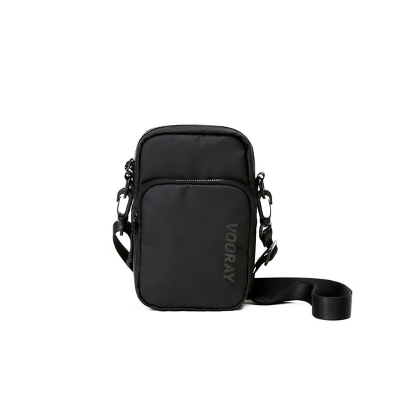 Core Crossbody Bag, Matte Black