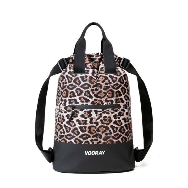 Flex Cinch Backpack, Cheetah
