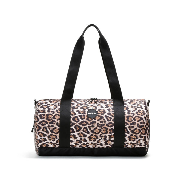 Iconic Barrel Duffel, Cheetah