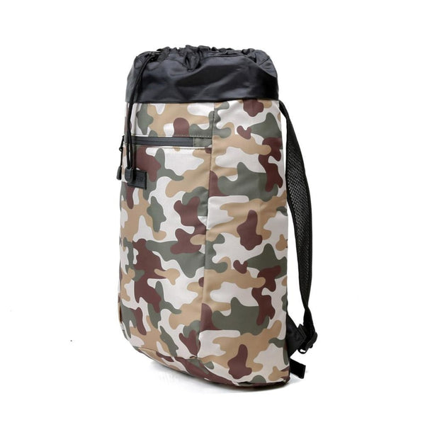 Stride Cinch Backpack, Camo