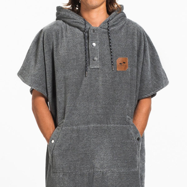 The Digs Changing Poncho - Heather Grey - Large
