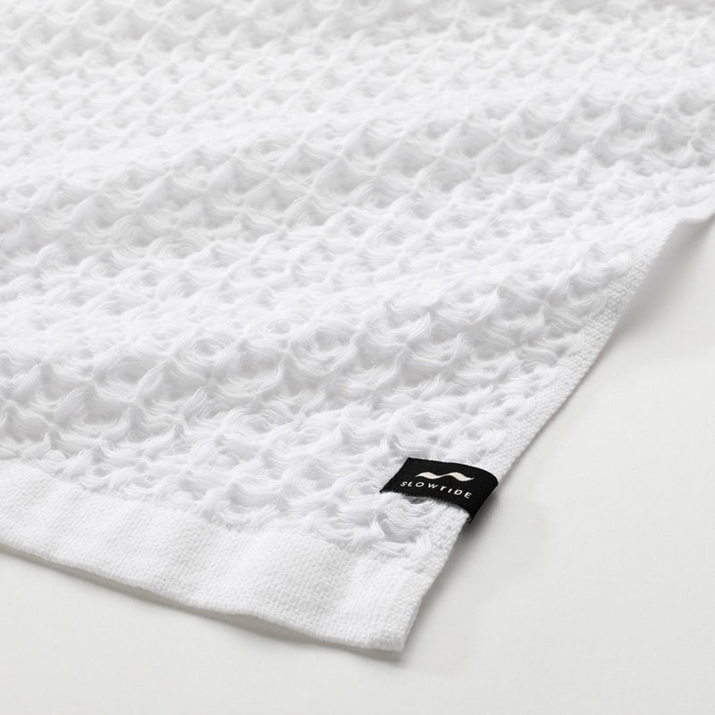 Guild Waffle Towel Two-Piece Bundle - White