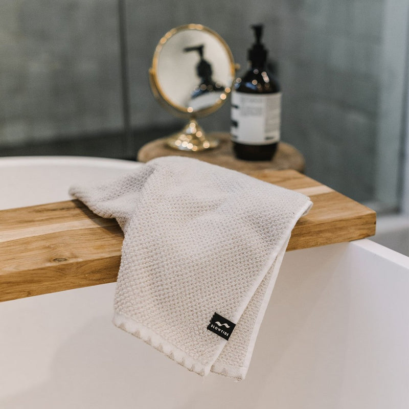 Luxe Hand Towel - Off White
