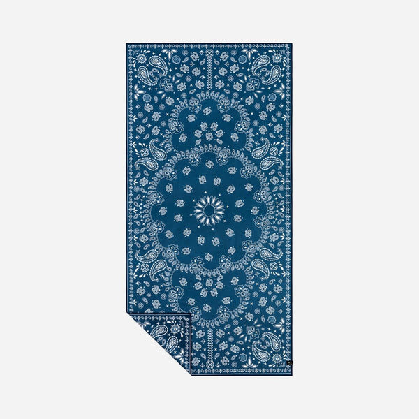 Paisley Park Travel Towel - Navy