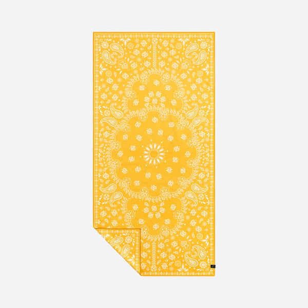 Paisley Park Travel Towel - Yellow