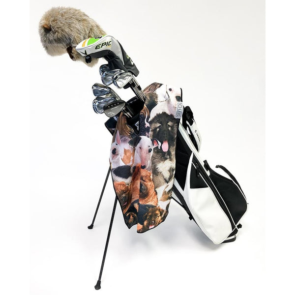 Puppy Party Golf Towel