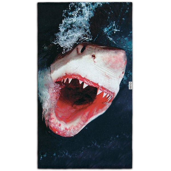 Great White Beach Towel