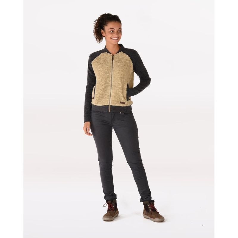 Arya Sherpa Fleece Bomber Jacket