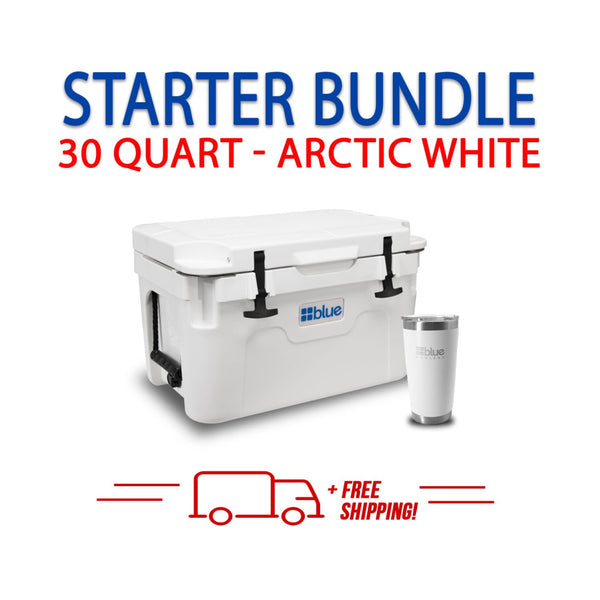 Blue Coolers 2.0 - 30 Quart Starter Bundle