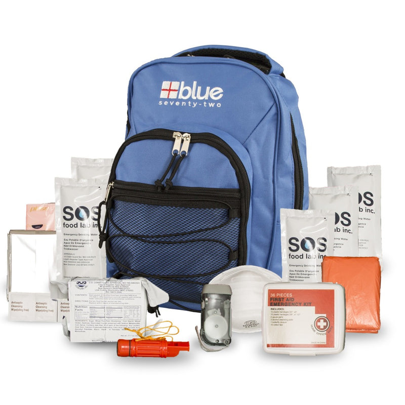 Blue Seventy-Two - 3 Day Emergency Kit for 1 Person