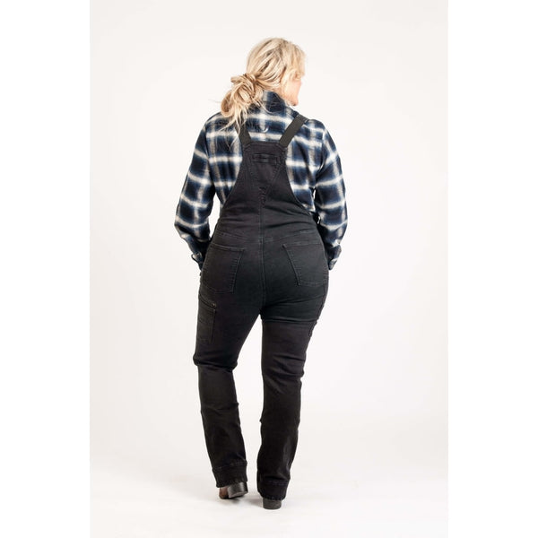 Freshley Overall in Cosy™ Black Denim