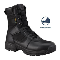 "Series 100® 8"" Side Zip Boot Waterproof Comp Toe"