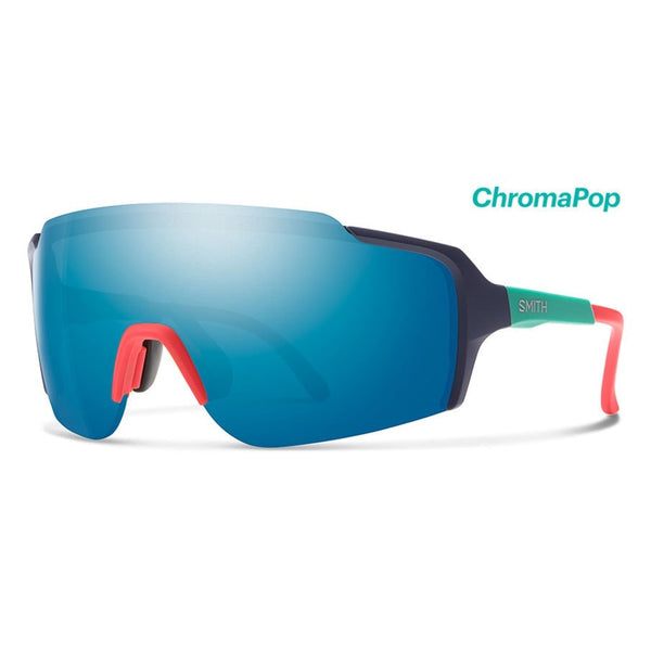 Flywheel Deep Ink ChromaPop Blue Mirror Sunglasses