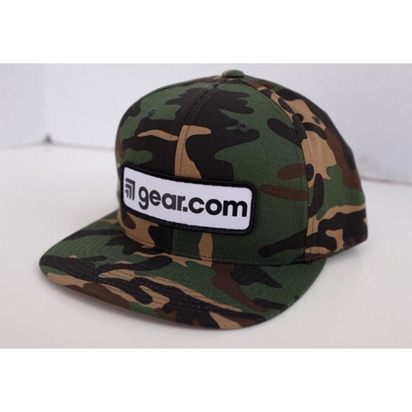 Gear Patch Camo Hat