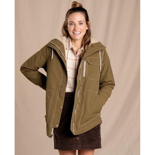 Women's Forester Pass Sherpa Parka