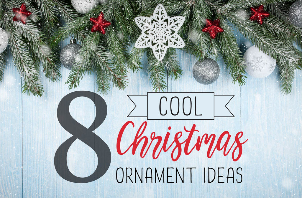 8 cool christmas ornament ideas, eight cool christmas ornament ideas, ornament ideas, ornaments, christmas, christmas ornament, christmas ideas, holiday season, holidays, diy, do it yourself, etsy