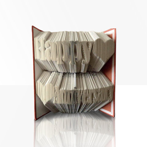 Unique Anniversary Gifts for Him – Anniversary book folding patterns from Bookami