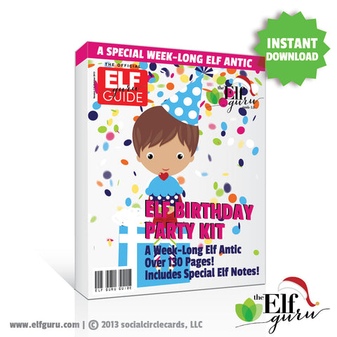 Elf on the Shelf Printable Kit