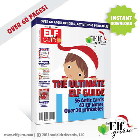 Easy Printable Elf on the Shelf Kit