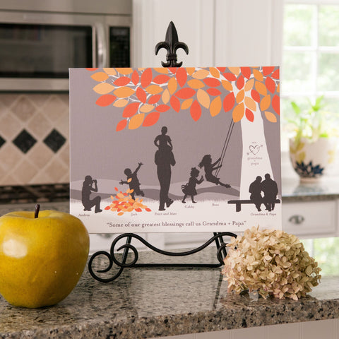 Family Silhouette Prints from PaperRamma