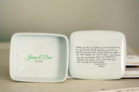 Handwritten Letter Box from Remember When Ceramics