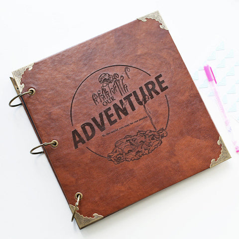 Unique Anniversary Gifts for Him – Custom Adventure Scrapbook / Photo Album from Balmain Design