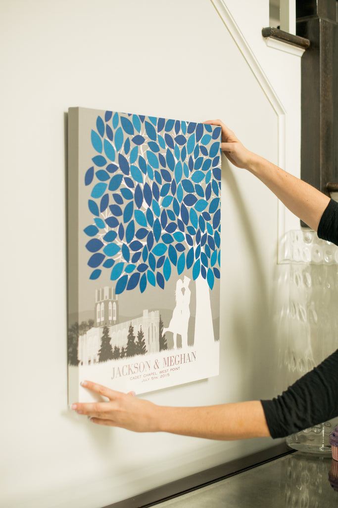 How to hang your Canvas Print by Team 76th & Newbury