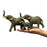 Attractive African Elephant Family with Trunks Raised Show Piece - My Star Gardens