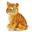 Elegant Tiger Cub Sitting Show Piece - My Star Gardens