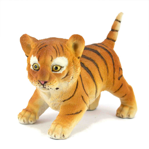Elegant and Active Tiger Cub Show Piece - My Star Gardens