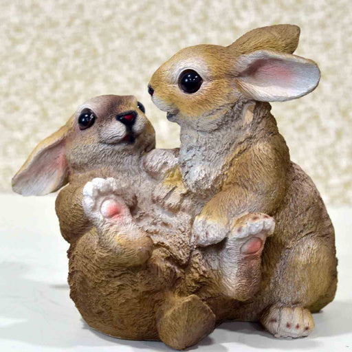 Cute and Playful Rabbits Figurines - My Star Gardens