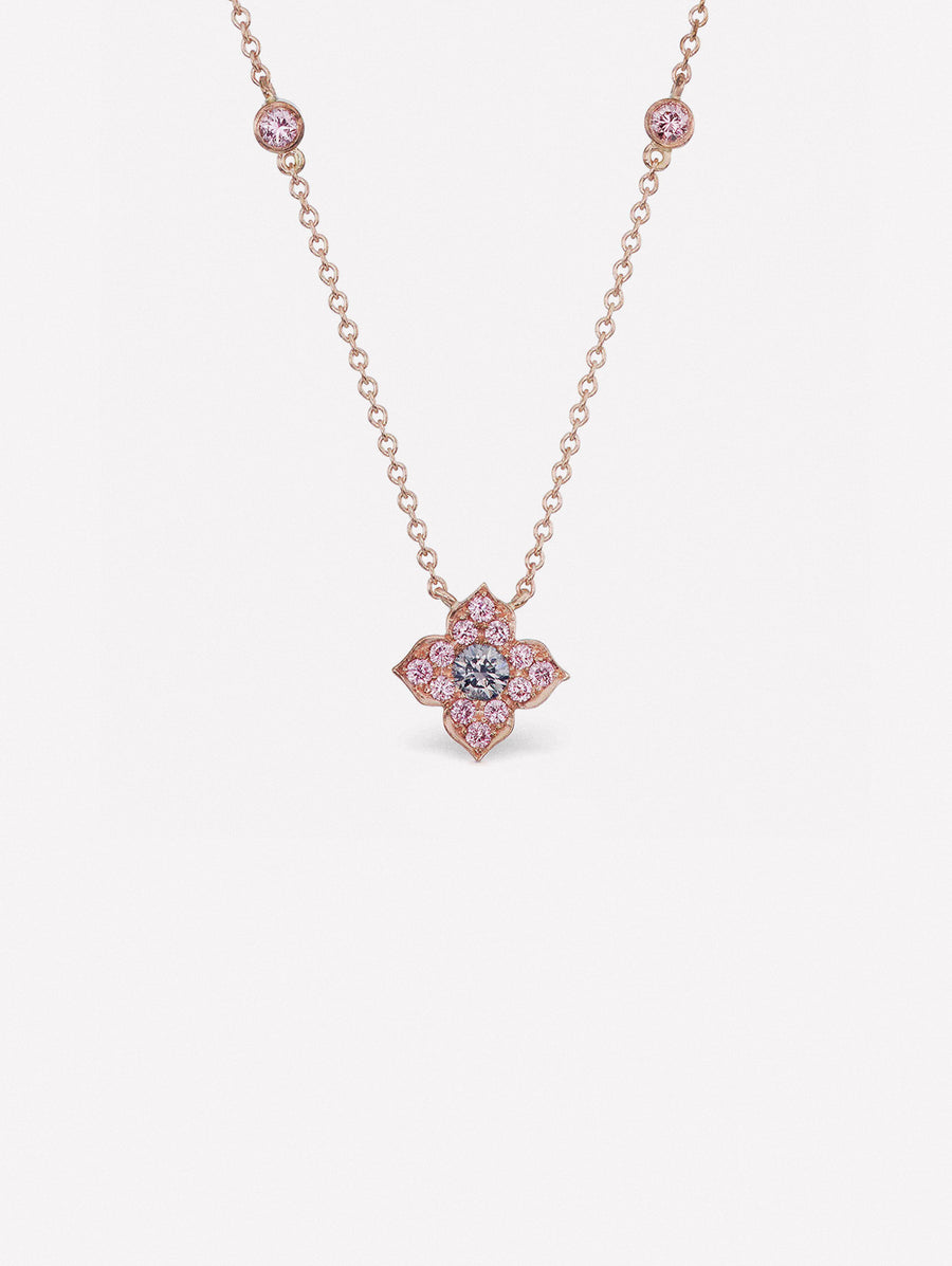 Argyle Blue Azalea Necklace