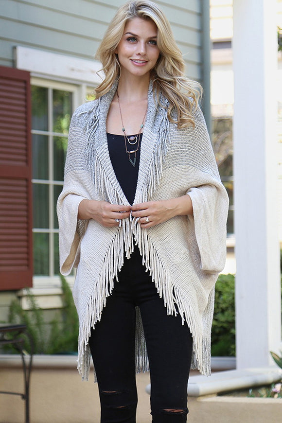 Woodlands Fringe Sweater