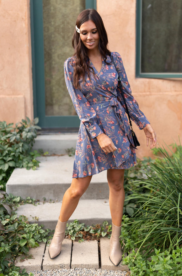 Own The Night Floral Dress