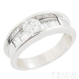 bague diamant baguette occasion