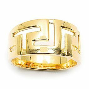 bague en or grec