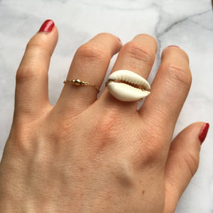 bague or coquillage