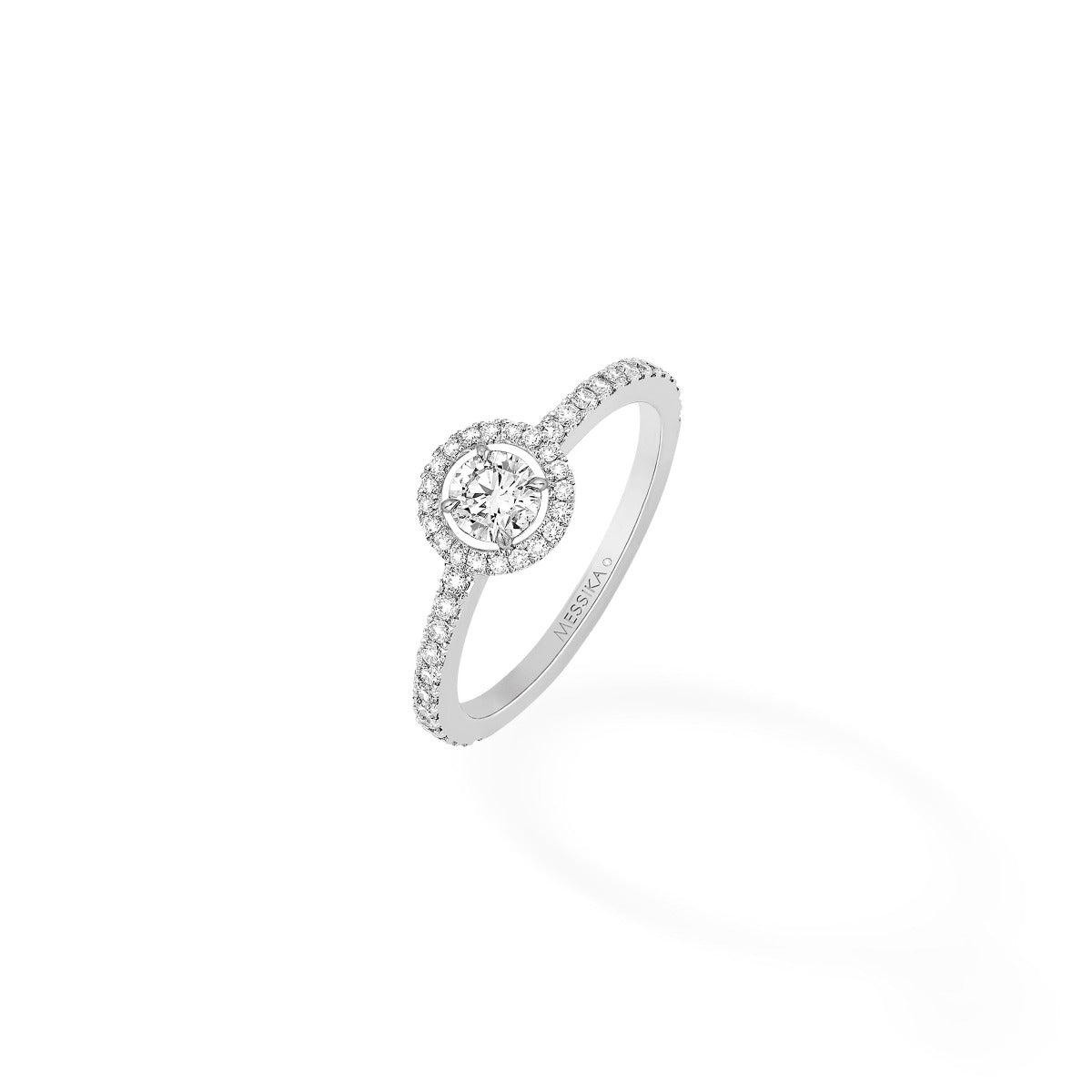 bague solitaire diamant messika