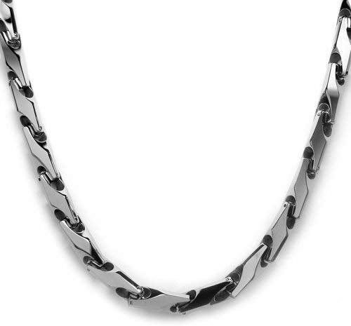 collier homme tungstene